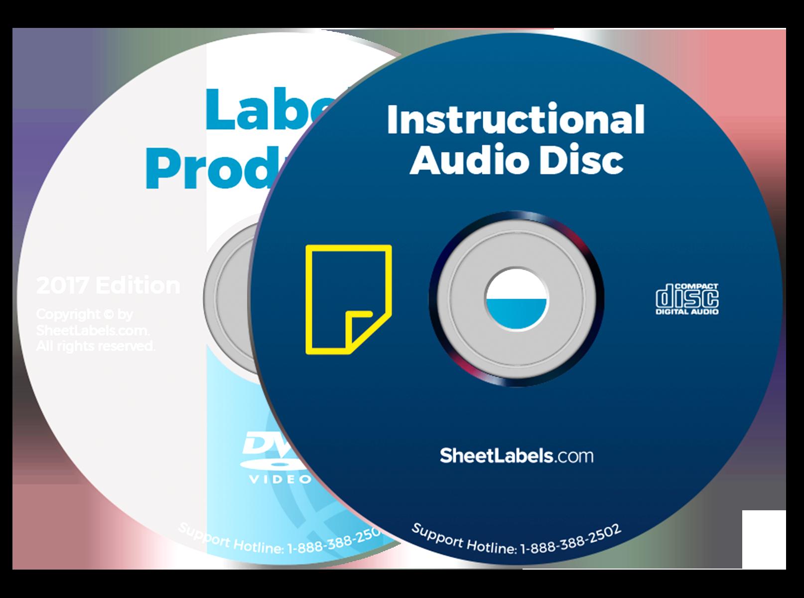 pre printed cd labels