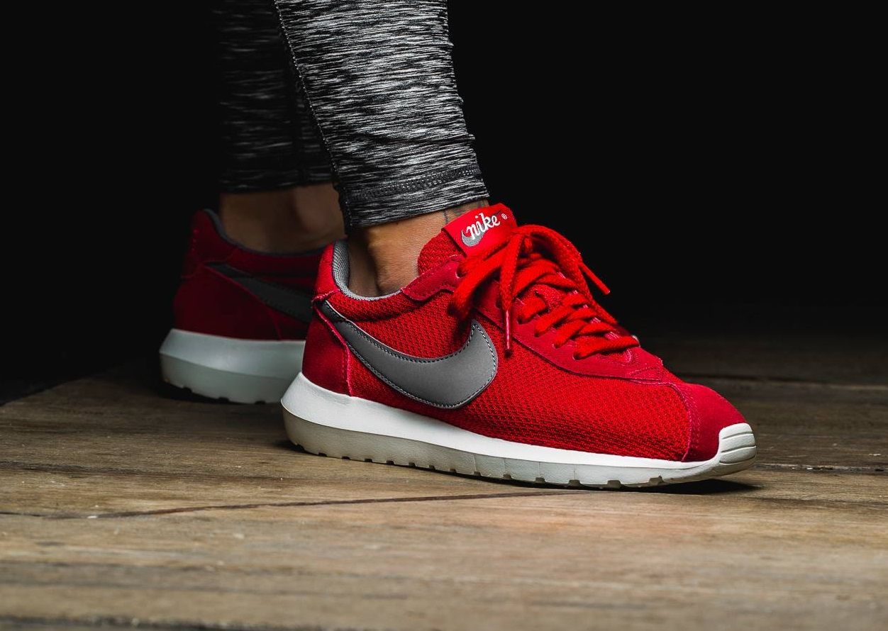 lowest price 9d7bc 68aac Concrete   Nike Roshe LD-1000  Red Silver
