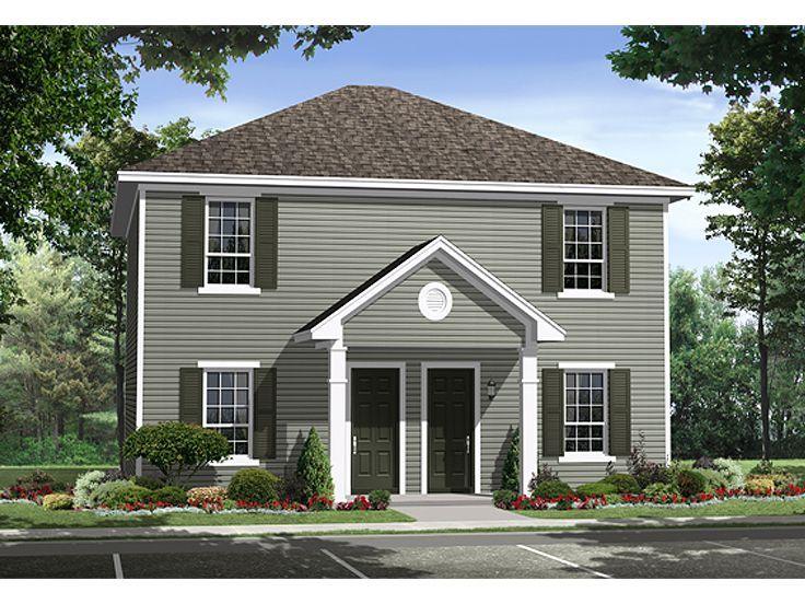 Duplex floor plans duplex house plans the house plan for Small house design facebook