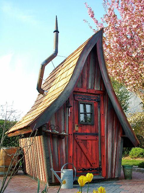 Casa Kaiensis Baumhausideen, Gartenhaus, Holzhaus