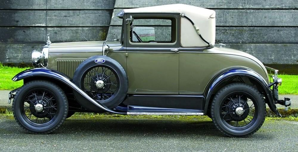 Top 100 American Collector Cars of All Time - / 1928-31 Ford Model A ...