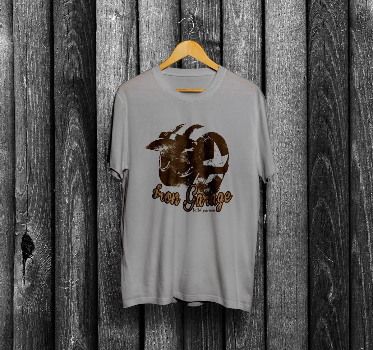 Iron Garage - Cafe Racer Tshirt