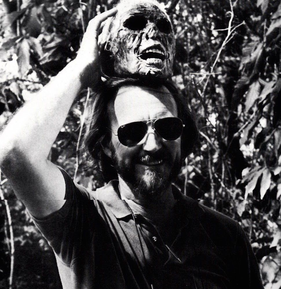 Wes Craven on the set of The Serpent and the Rainbow