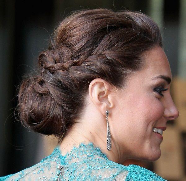 Kate Middleton Braided Chignon