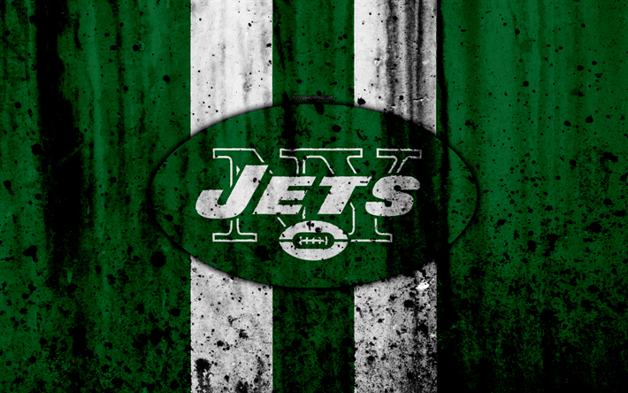 Download Wallpapers 4k New York Jets Grunge Nfl American Football Nfc Usa Art Ny Jets Stone Texture Logo East Division Besthqwallpapers Com New York Jets Ny Jets Sports Wallpapers