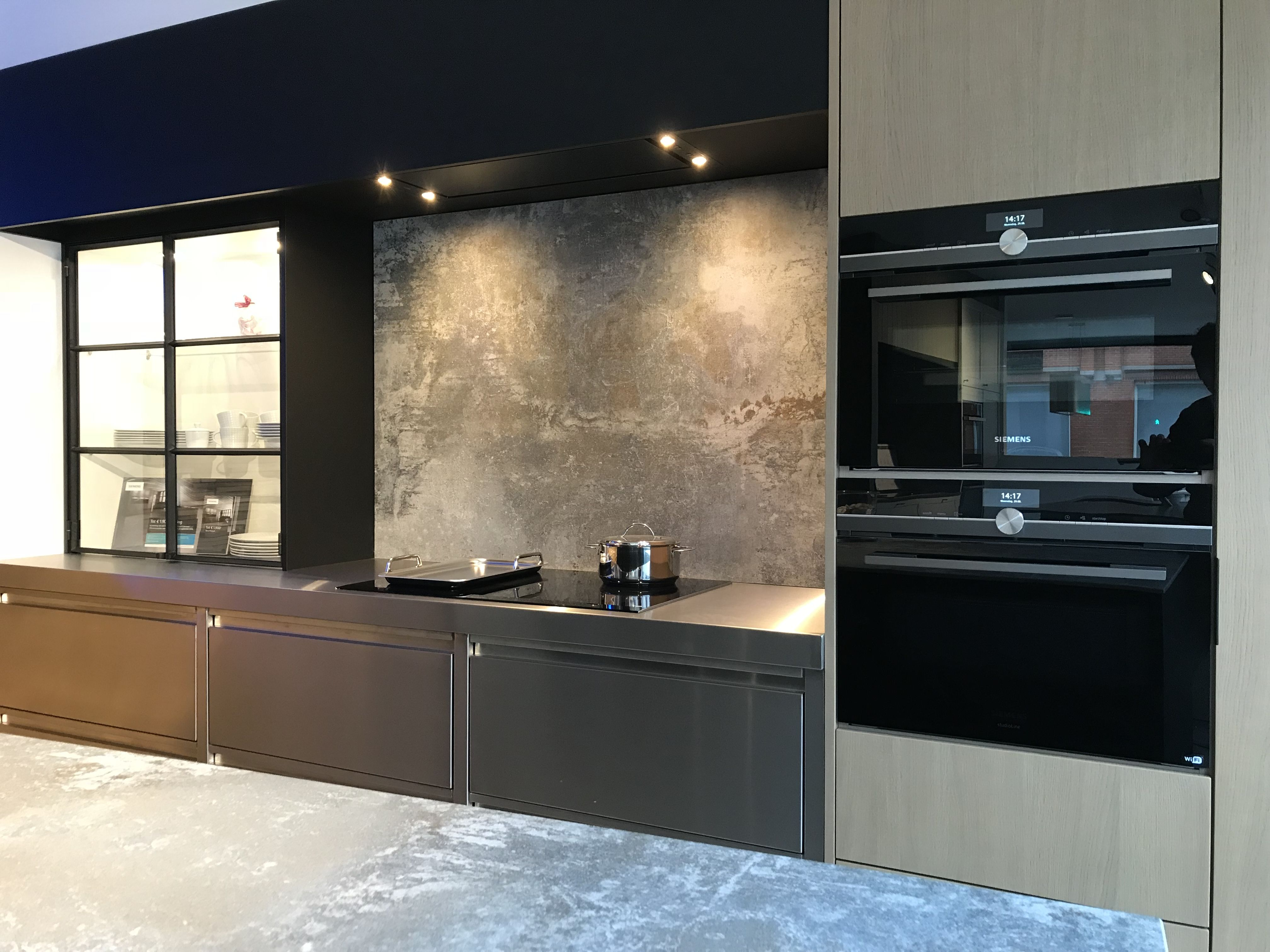 Inox Design Keukens : Combinaties maken die werken daar gaat het om inox mat