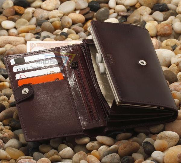 Portfel Damski Ze Skory Z Kolekcji Milano 29 5488255683 Oficjalne Archiwum Allegro Wallet Items Trifold
