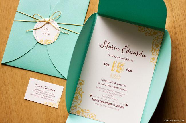 Ideias Para Convite De 15 Anos: Pin De May Benjamim Em Visual - Convites