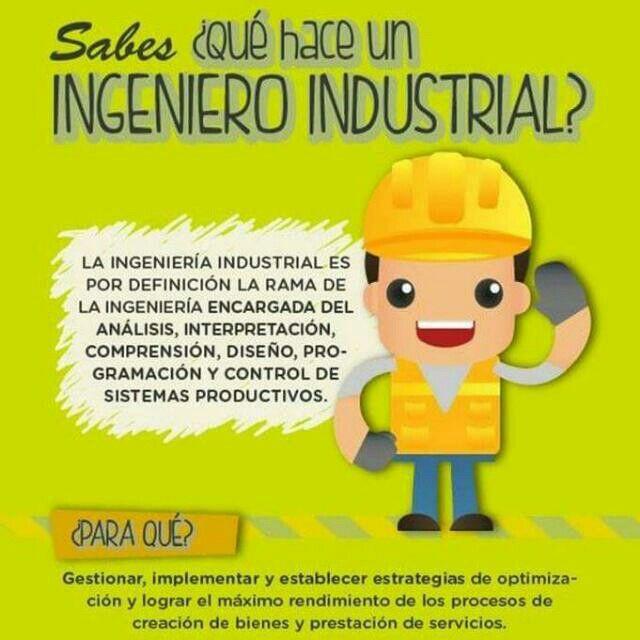 Qué hace un ingeniero industrial