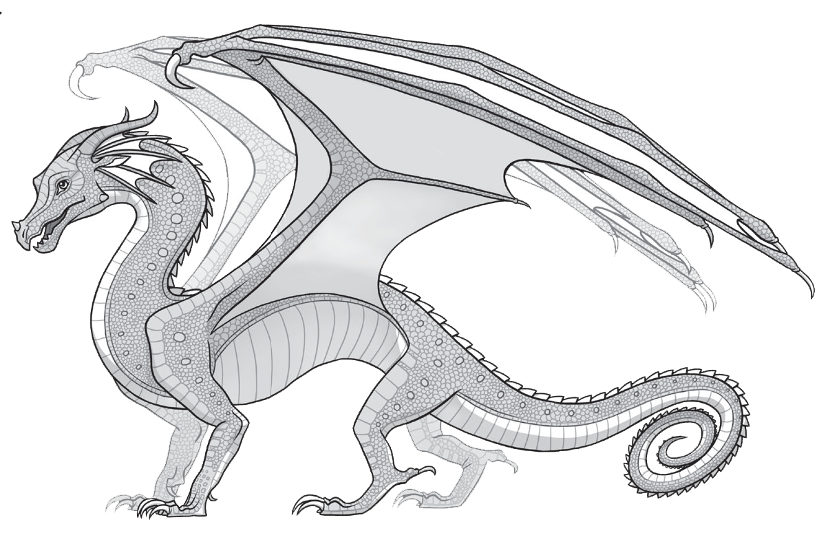 Wings Of Fire Wings Of Fire Dragons Wings Of Fire Dragon Coloring Page