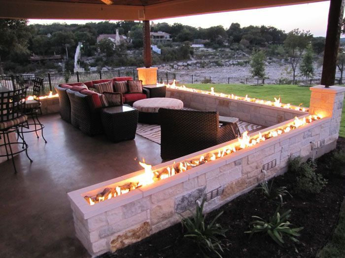 Photo of Image result for creative ideas for gas fire pits