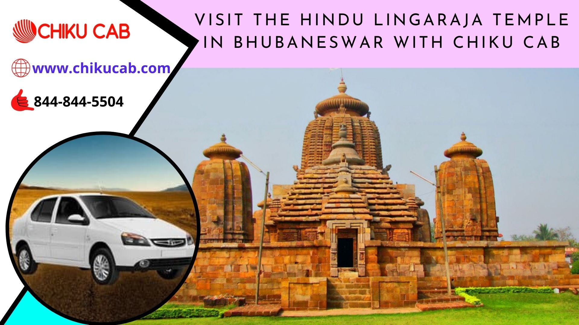 You can visit the #HinduLingarajaTemple with #ChikuCab #TaxiServiceinBhubaneswar at #affordable #rates. To #rent a #car in #Bhubaneswar, call us on 8448445504 or visit our website page.