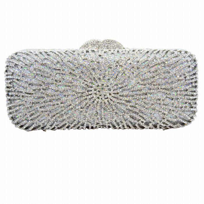 Diamante Rhinestone Sparkly Clutch Bag Women Luxury Crystal ...