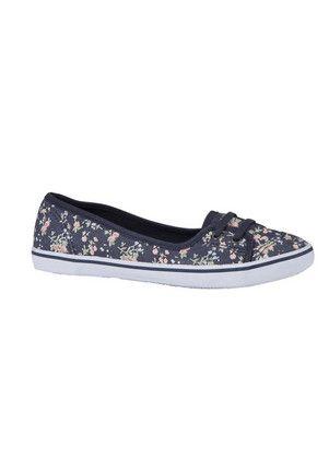 6af67b939e Clothing at Tesco | F&F Floral Print Low Lace Canvas Shoes > shoes >  Festival > Women