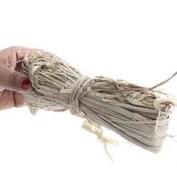 natural dried raffia ribbon