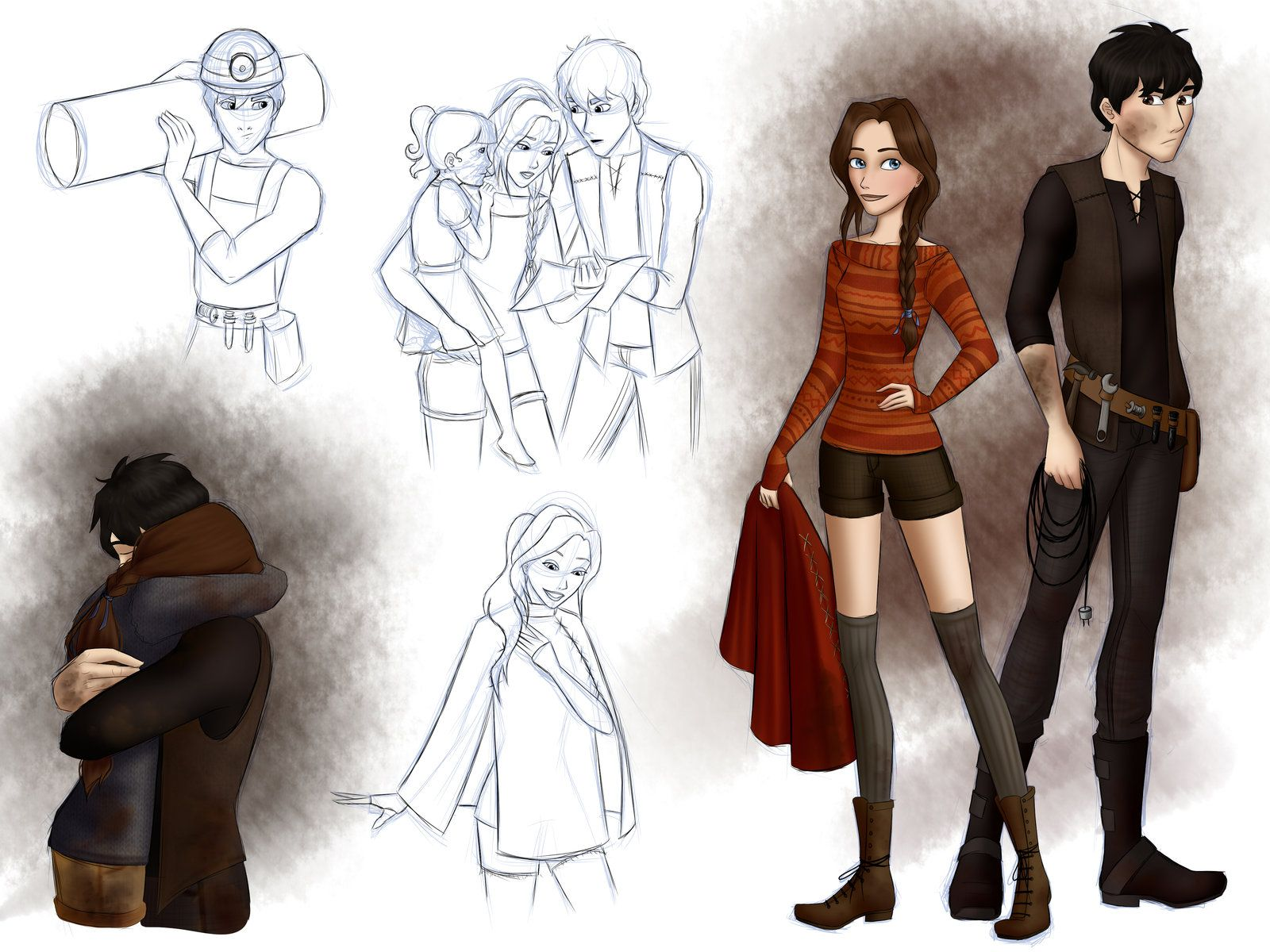 City Of Ember By Whisperwings On Deviantart City Of Ember Ember Character Sketches