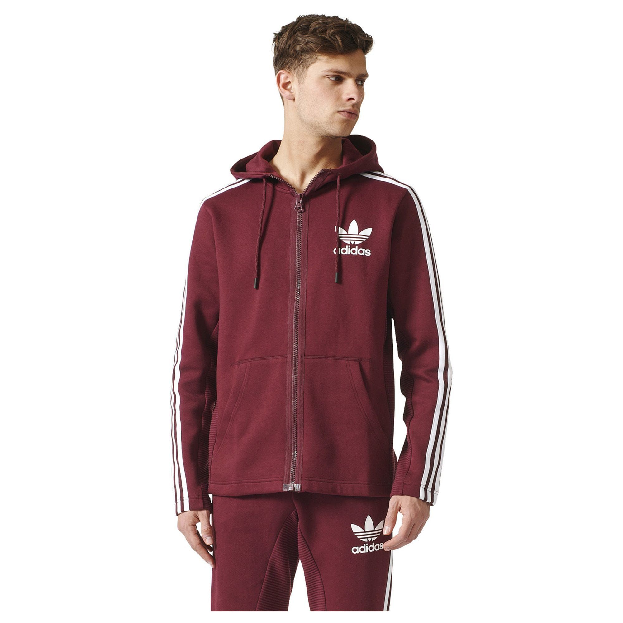 Adidas Zip Men'sWant Full Originals Hoodie Curated 8mN0Ovnw