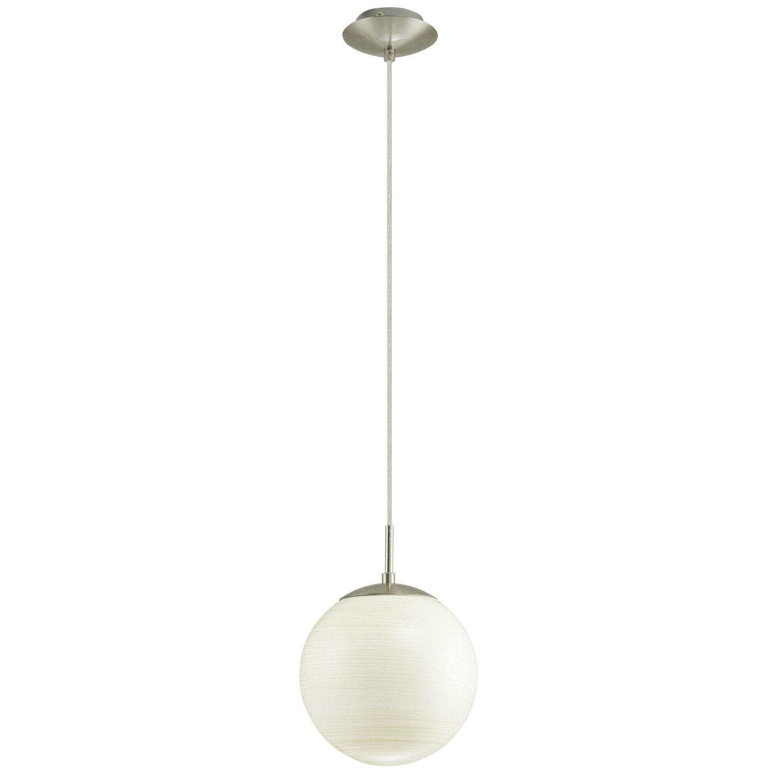 Leroy Merlin Suspension Milagro Eglo Blanc 60 Watts Diam 20 Cm 31 90 Lampe Suspension Suspension Luminaire Decoration