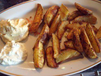 Potatoe Wedges - Rezept mit Bild