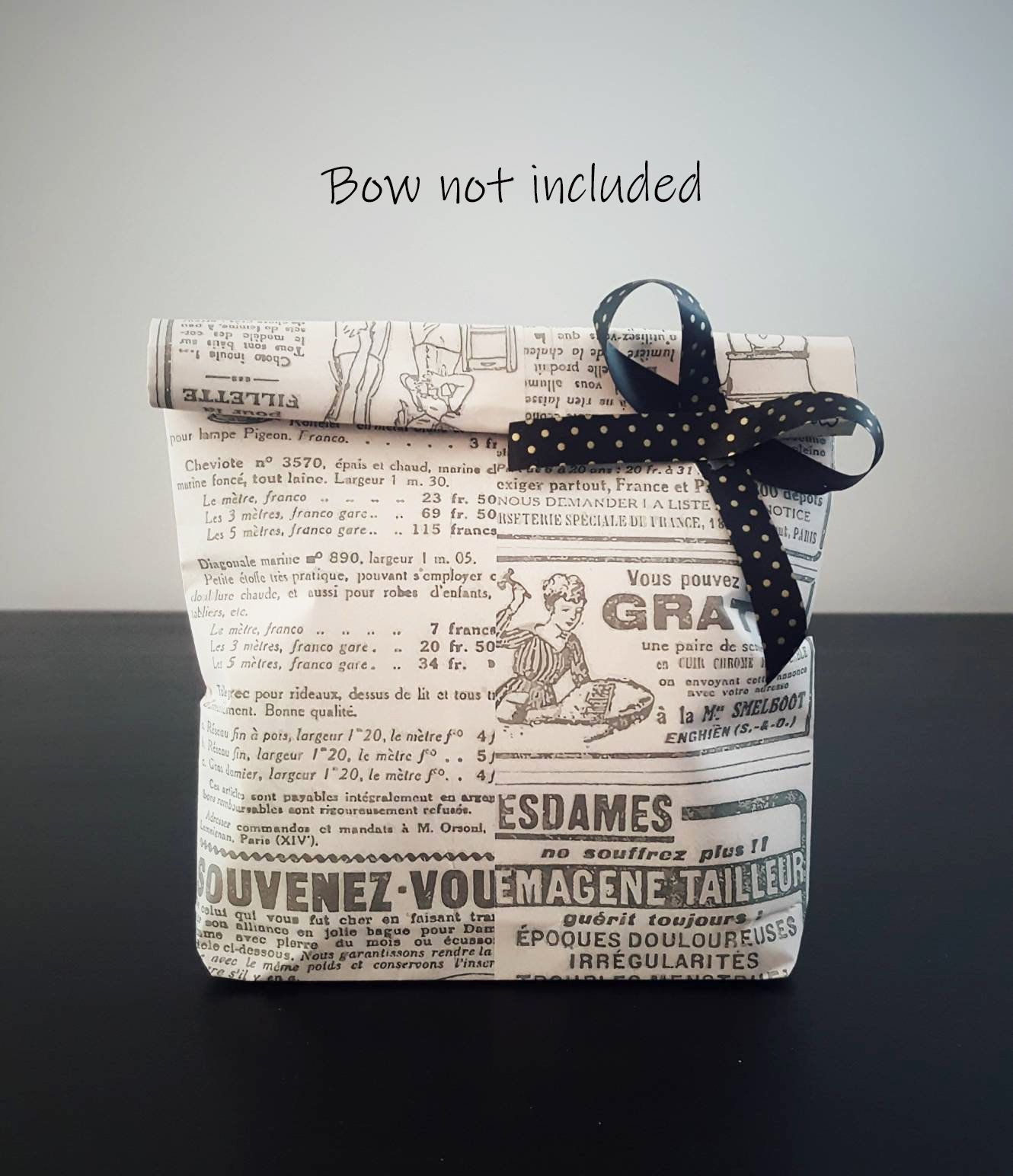 Excited To Share The Latest Addition To My Etsy Shop Set Of 10 Handmade Vintage Retro Newspaper Newspaper Gift Newspaper Wrapping Gift Wrapping Supplies