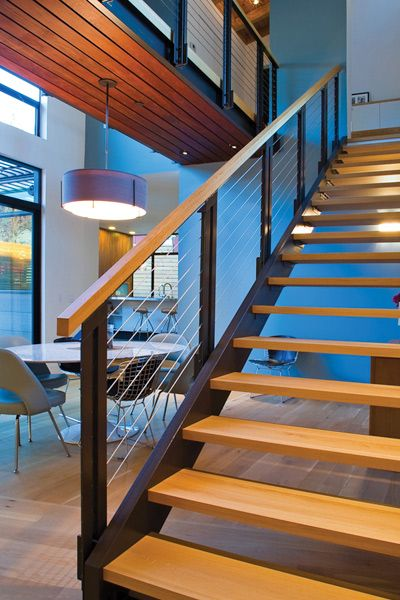 Feeney CableRail from DecksDirect | Modern staircase ...