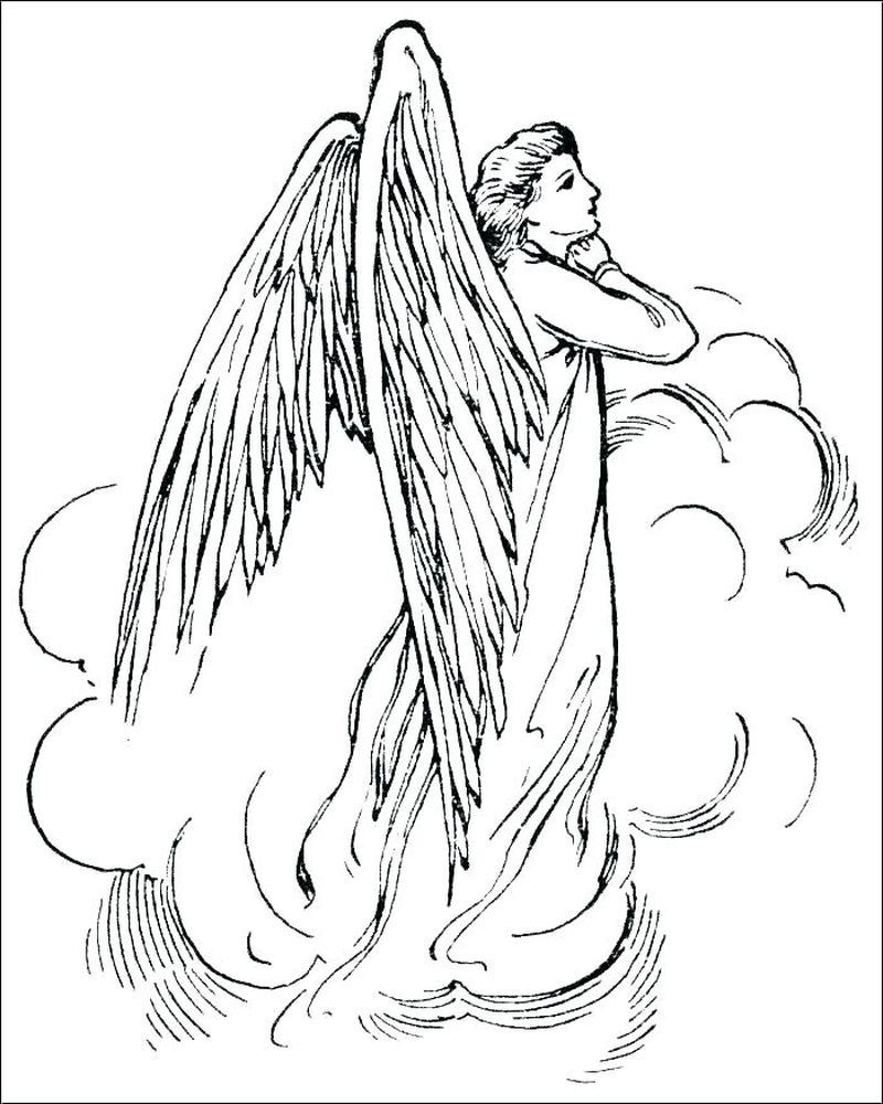 22++ Dark angel fallen angel fairy coloring pages for adults ideas