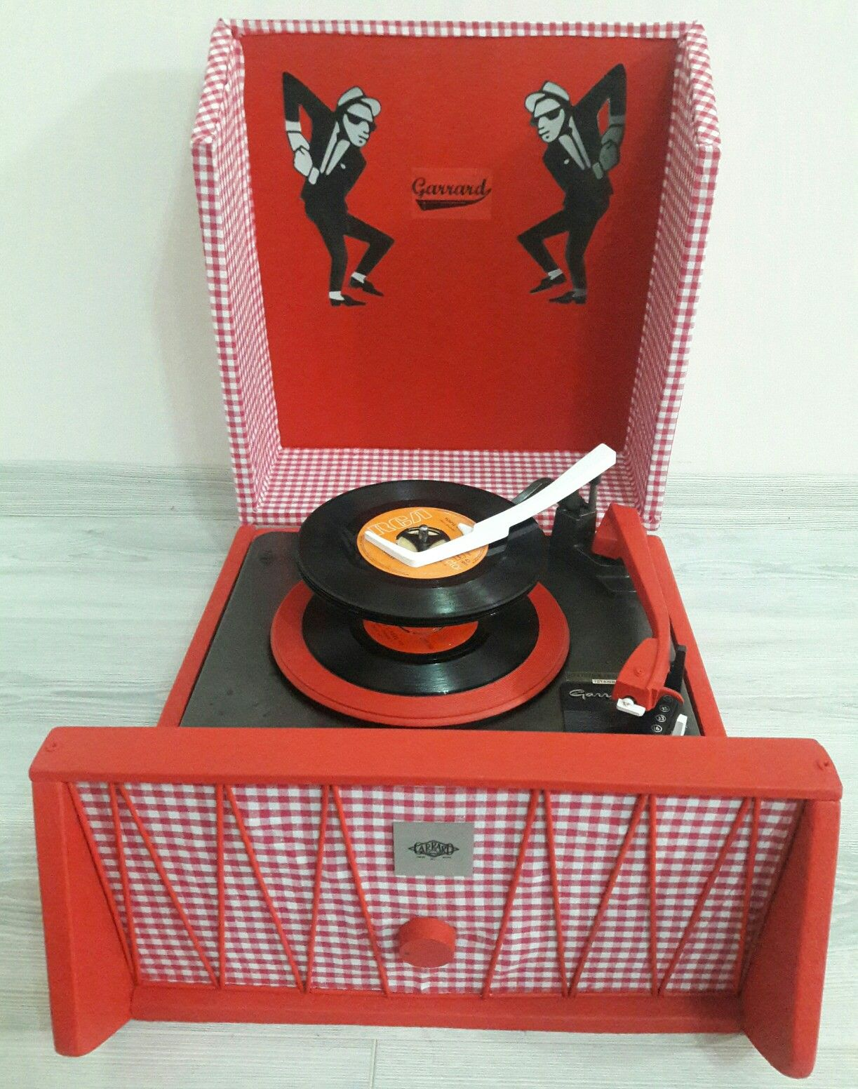 Garrard Record Player...1960\'s...Made in UK. By Space Age Antique ...