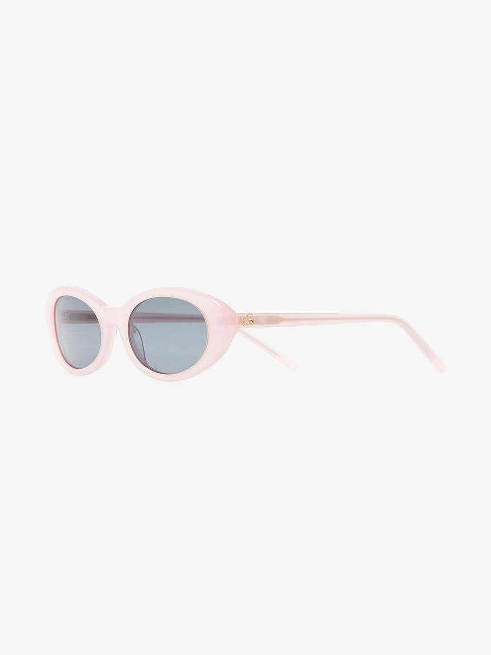 42a2885142 Roberi   Fraud light Pink Betty Oval Sunglasses On Sale
