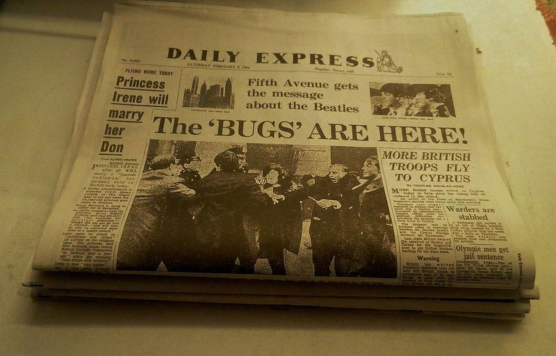 The Bugs are Here! The Beatles invade the USA, Feb 8 1964