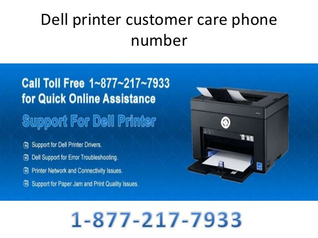 1-877-217-7933 Dell Printer Support Phone Number   Is your printer stops working suddenly? Then you should call at Dell Printer Support Phone Number for quick technical support. Our helpline toll free 1-877-217-7933 number is freely open for online dell printer users for any kind of technical help.