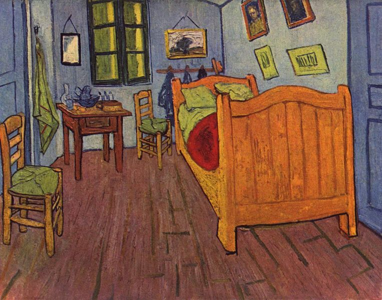 TOUCH esta imagen Bedroom, Van Gogh by Maite Fresnillo Post - schlafzimmer in arles