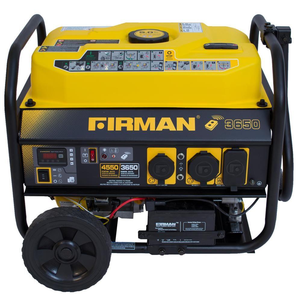 Power Equipment PO3608 Gas Powered 3650/4550Watt Portable