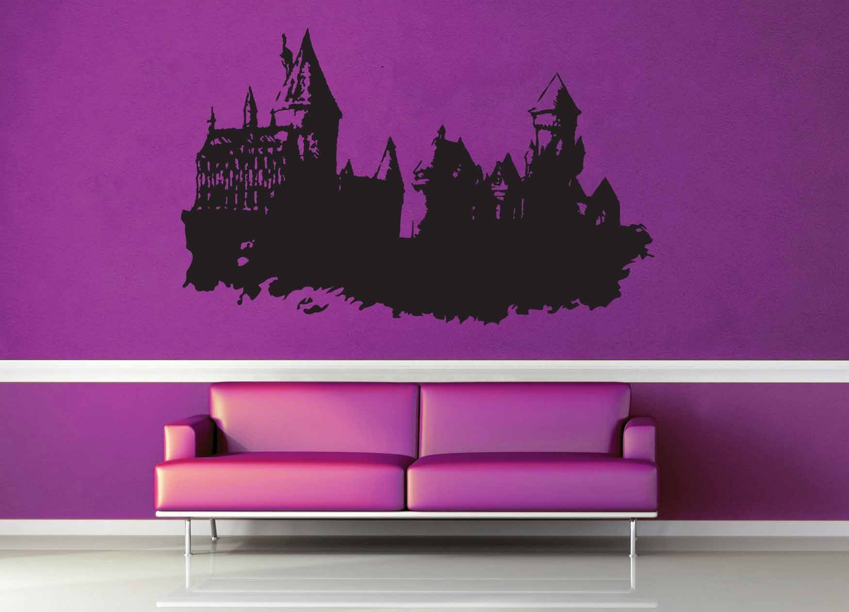 hogwarts castle harry potter wall decal no 1