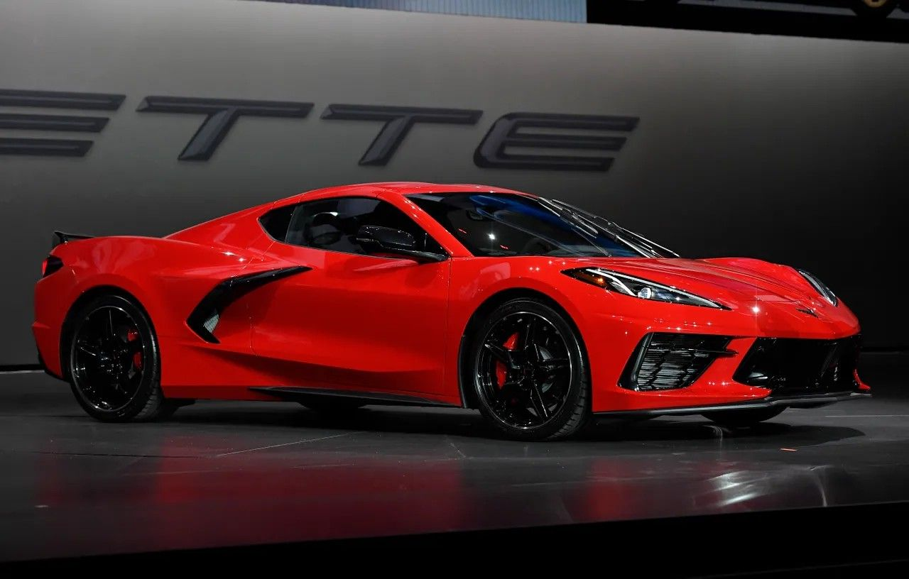 The 2020 midengine C8 Corvette Stingray Chevrolet