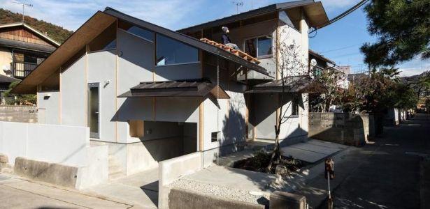 Architecture atypique pour maison japonaise bioclimatique en bois