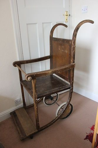 Amazing Invalid Chair Made In Birmingham Uk Early 20Th Century Download Free Architecture Designs Sospemadebymaigaardcom