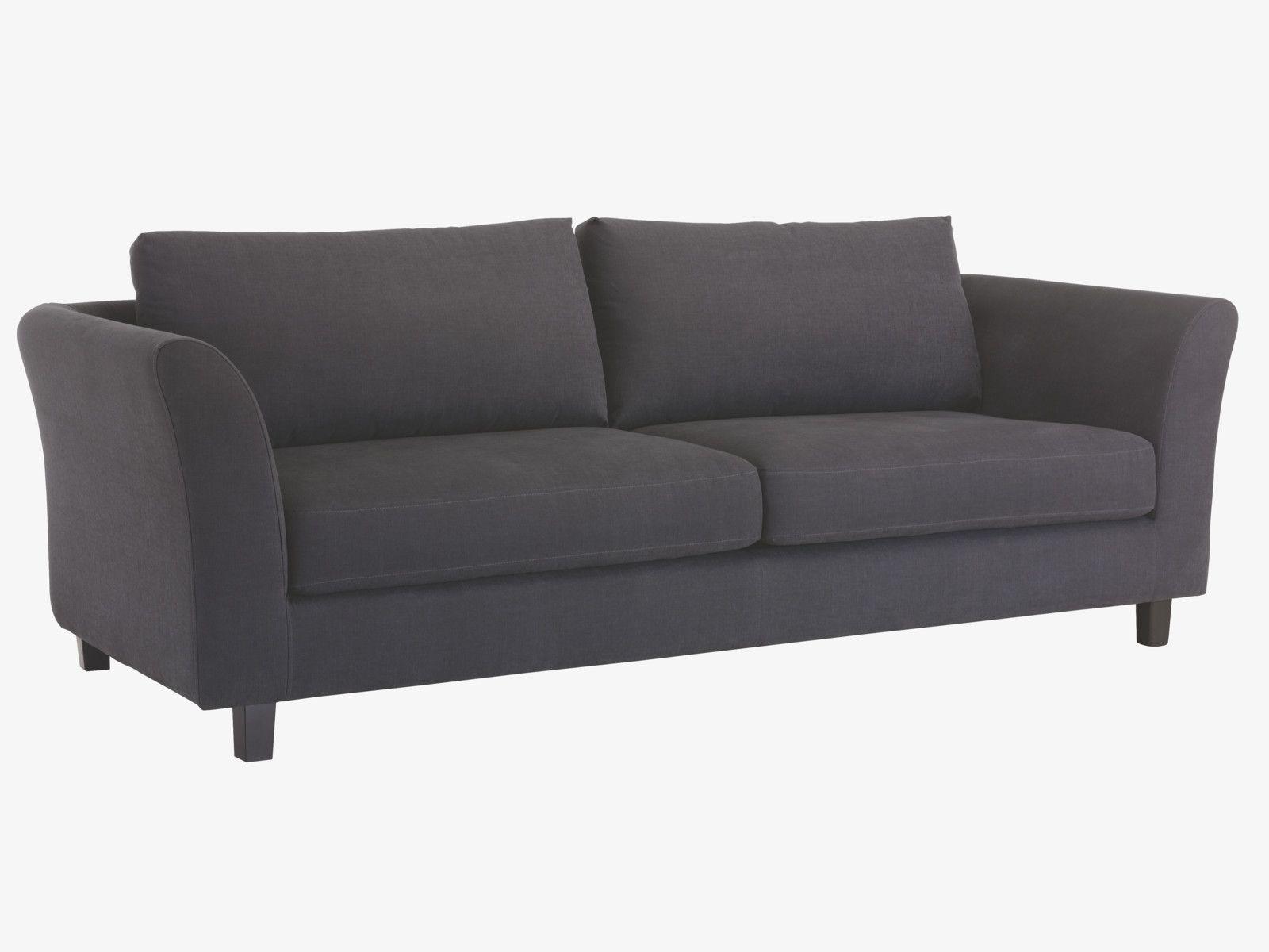 ALCOTT BLUES Cotton Blend Fabric 3 Seater Sofa Bed   HabitatUK A Habitat  Exclusive Design,