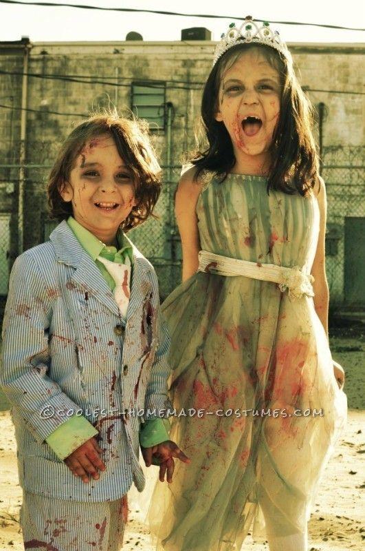 Prom Night Gone Bad Zombie Family Costume Costumes, Halloween - zombie halloween ideas