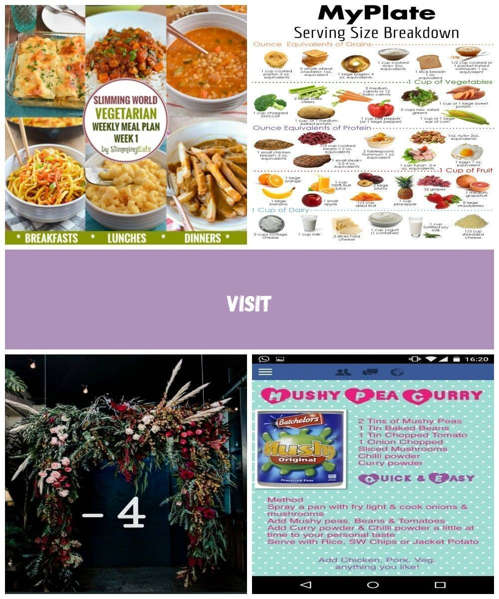 Slimming Eats Vegetarian Weekly Meal Plan  Week 1  Slimming World Recipes    You may encounter a lot of wrong information about healthy eating that can cause different co...