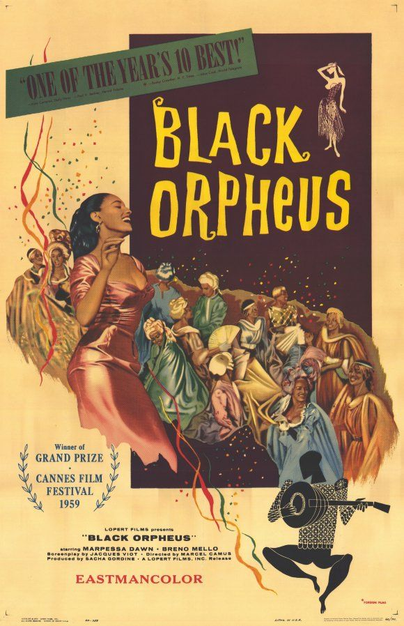 Image result for black orpheus movie poster