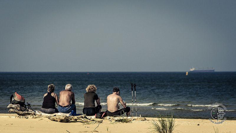 Bałtycka plaża, Świnoujście Warszów