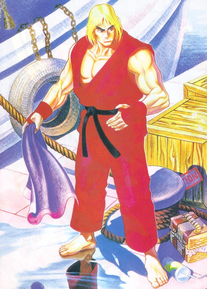Street fighter ii, Street fighter,