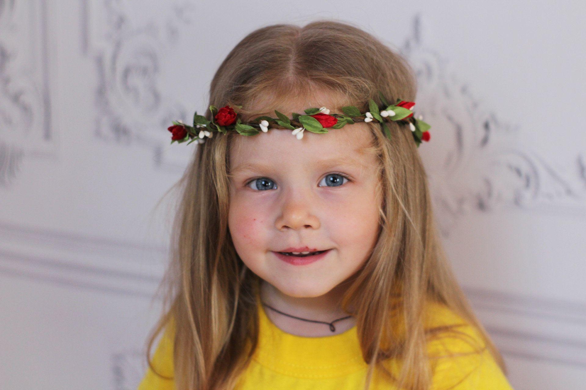 Flower girl white flower crown thin halo white and red flower flower girl white flower crown thin halo white and red flower headband for toddler girl white izmirmasajfo