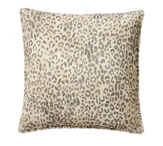 Throw Pillows Decorative Pillows Accent Pillows Pottery Barn Cheetah Print Printed Pillow Pillow Covers