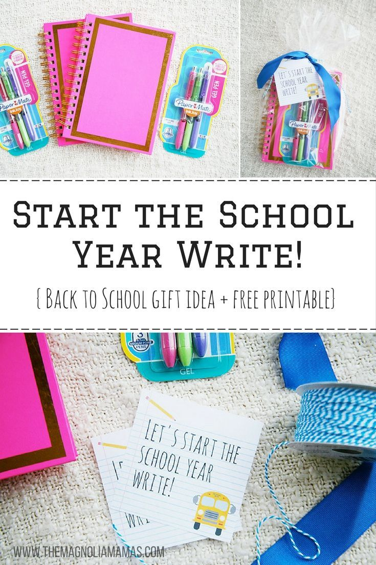 Super Cute Writing Themed Back To School Gift Idea Great Gift For