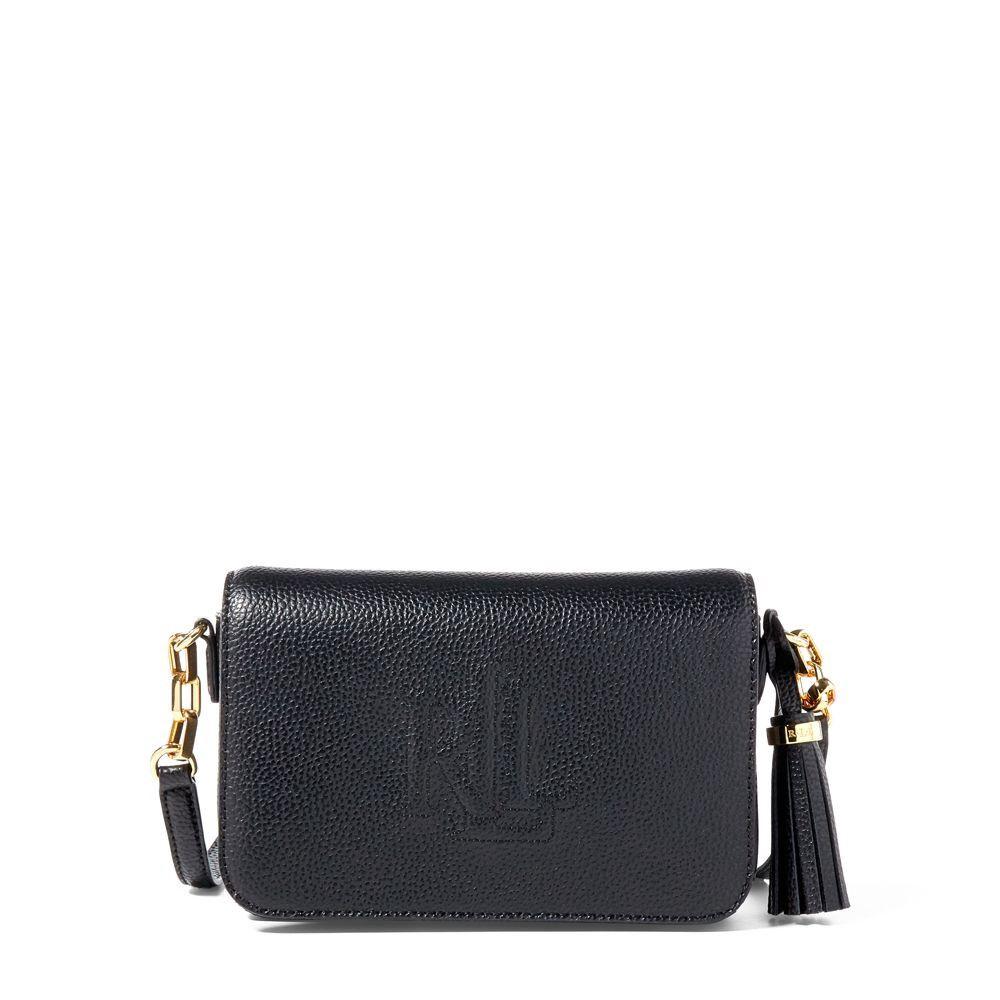 buying cheap meet latest design RALPH LAUREN Lauren Carmen Leather Crossbody Bag ...