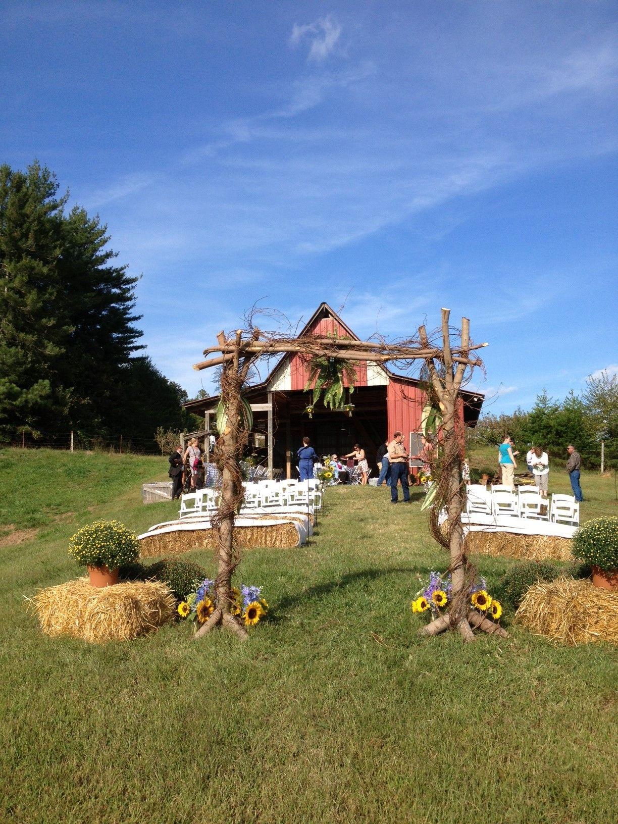 The Orchard Barn in Ellijay GA can host your dream barn