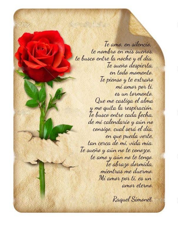 Check out my new PixTeller design! :: Te amo, en silencio, te nombro en mis sueños,...
