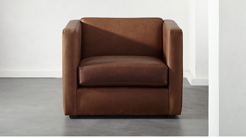 Club leather chair cb2 in 2020 leather chair leather
