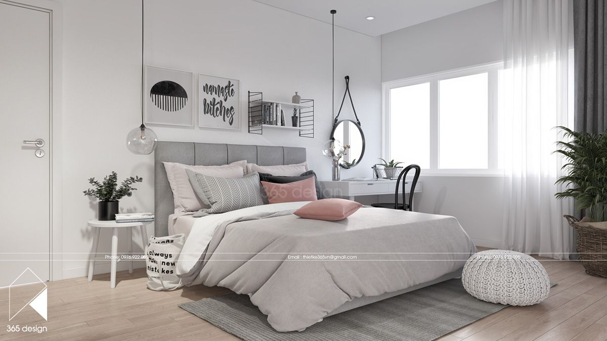 Modern Scandinavian Design For Home Interior Completed With Kids Room Design Roohome In 2020 Chic Bedroom Design Condo Interior Design Bedroom Design
